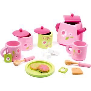 DINETTE - CUISINE Service à thé en bois rose