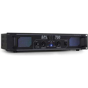 AMPLI PUISSANCE ampli DJ sono audio 2000W stereo EQ AUX in MP3 LED