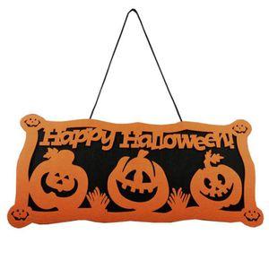 decoration de porte halloween achat vente pas cher. Black Bedroom Furniture Sets. Home Design Ideas