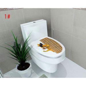 CUVETTE WC SEULE Motif 1 Sticker Pour Cuvette des Toilettes WC Auto