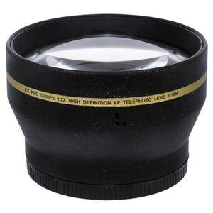COMPLÉMENT OPTIQUE Convertisseur Telephoto 2,2x Objectif 67mm pour Ca