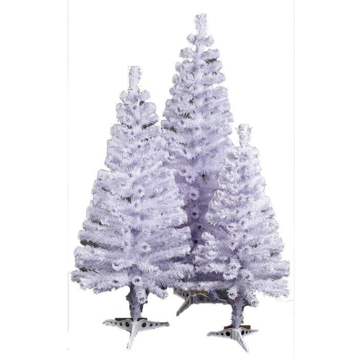 Matière : fibre optique et métal - Dimensions : 120 cm - Coloris : blancSAPIN DE NOEL - ARBRE DE NOEL