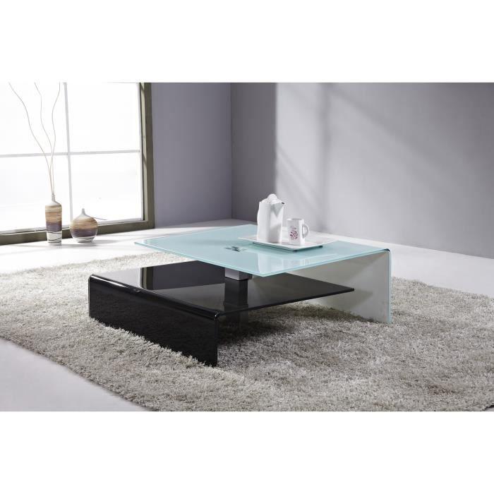 meilleur authentique b8f2a 73689 Table basse design ARCHITEK Longueur :90 cm x L… - Achat ...