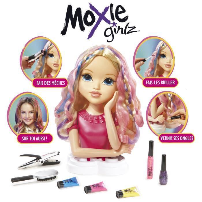 moxie girlz tête à coiffer avery avec accessoires 30 cm achat
