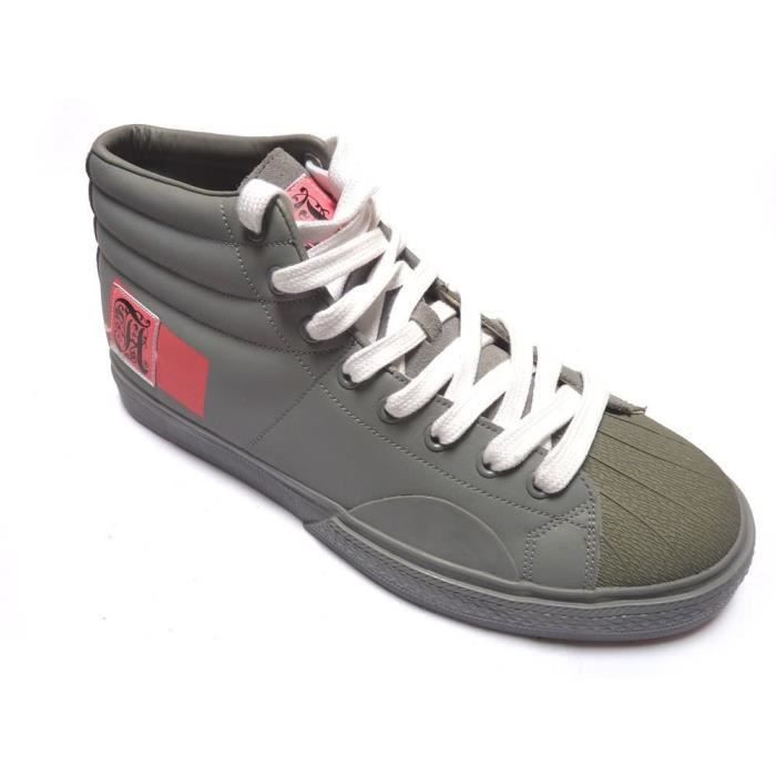 ALIFE Shell Toe Grey Pink