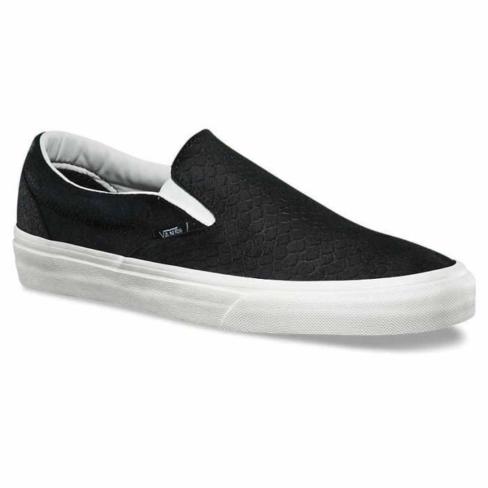 Homme Chaussures Classic On Baskets Slip Noir Vans Achat lTuFc3K1J