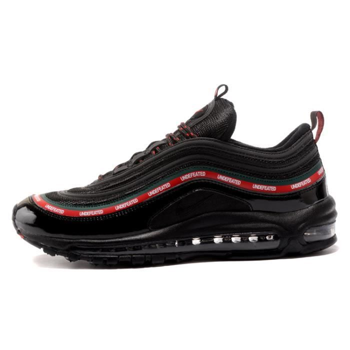 innovative design 64eb6 e88fa ... shop undefeated x nike air max 97 homme femme mixte chaussure de  running noir 85259 e8aa0