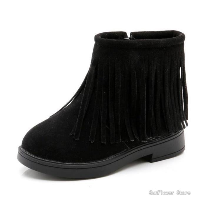 b548cc104a7ea Bottes Femme Fille Hiver Chaud Fourrure Neige Mode chaussure de ...