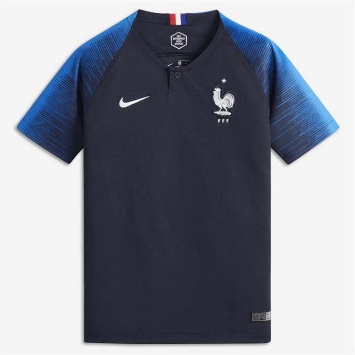 MAILLOT DE FOOTBALL Maillot Enfant Nike France Home Coupe du Monde de