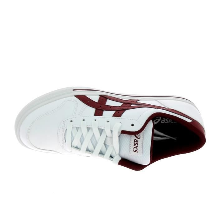 Basket mode - Sneakers ASICS Aaron Blanc Rouge