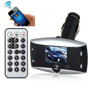 TRANSMETTEUR FM Kit de voiture Transmetteur FM Modulateur Bluetoot