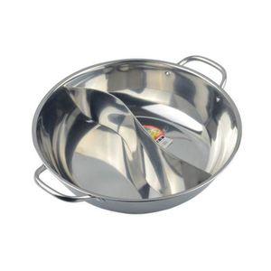 CASSEROLE Stainless steel fondue pot mandarin duck pot chafi