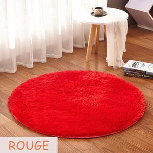 tapis rond rouge achat vente tapis rond rouge pas cher cdiscount. Black Bedroom Furniture Sets. Home Design Ideas