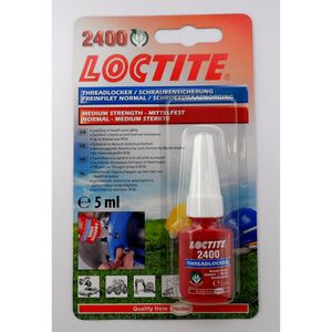 COLLE - PATE FIXATION Henkel Loctite 2400, Freinfilet normal, 5ml