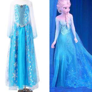 Deguisement femme reine des neiges achat vente jeux et - Robe reine des glaces ...