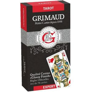CARTES DE JEU Grimaud Expert Tarot - jeu de 78 cartes cartonnées