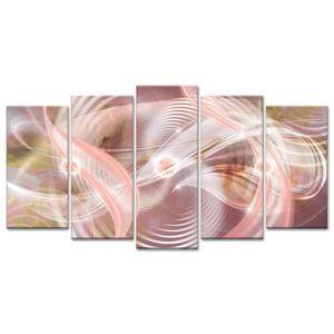 TABLEAU - TOILE Tableau Déco Design Abstrait Fascination - 150x80