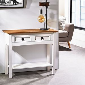 CONSOLE Console CAMPO table d'appoint en bois style mexica