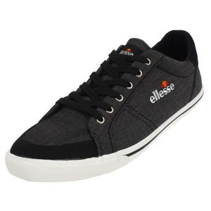 noir toile toile Ellesse Chaussures canvas Busy basses SIxqx5wta