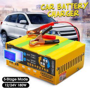 CHARGEUR DE BATTERIE TEMPSA 110-250V 12V/24V 200AH Batterie Chargeur In