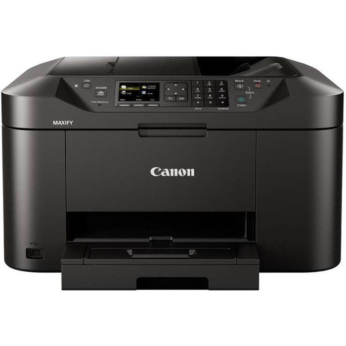 Canon Imprimante multifonction 4 en 1 MAXIFY MB2150 - Jet d'encre - Couleur - Ecran 2,5\