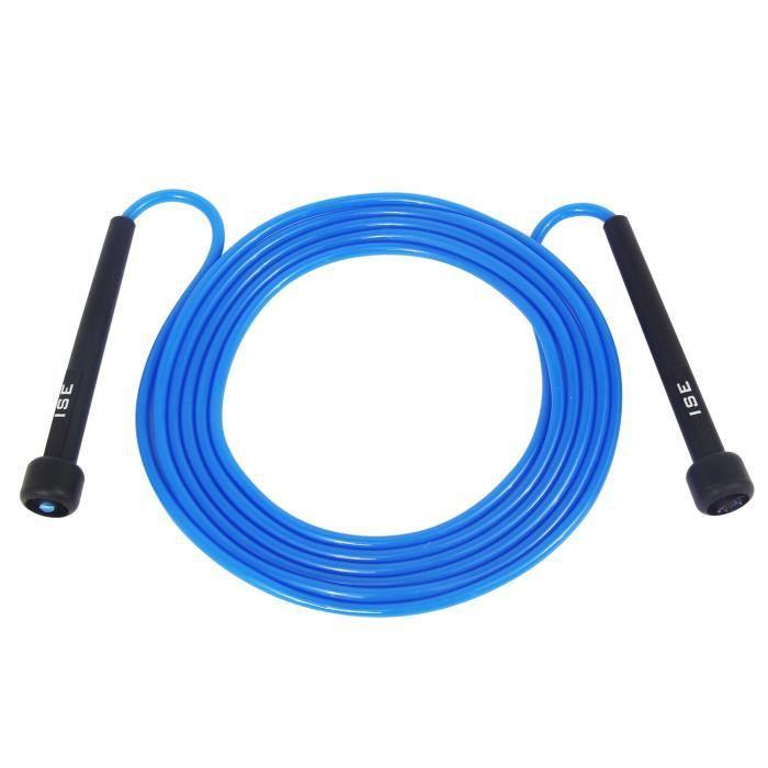 CORDE À SAUTER ISE Corde à Sauter Facilement réglable 3 m câble-L