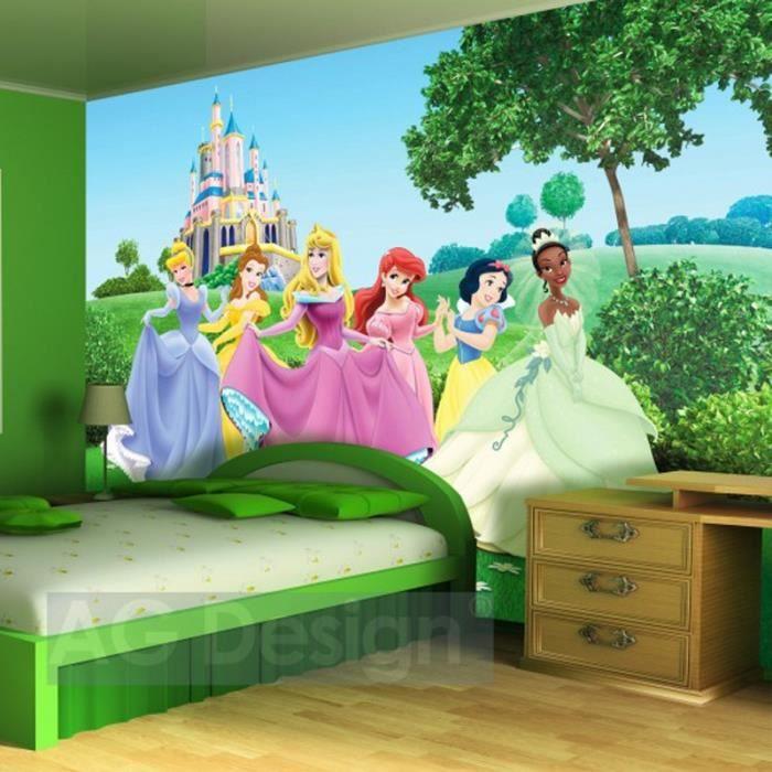 Papier Peint Xxl Chateau Princesse Disney Achat Vente Papier