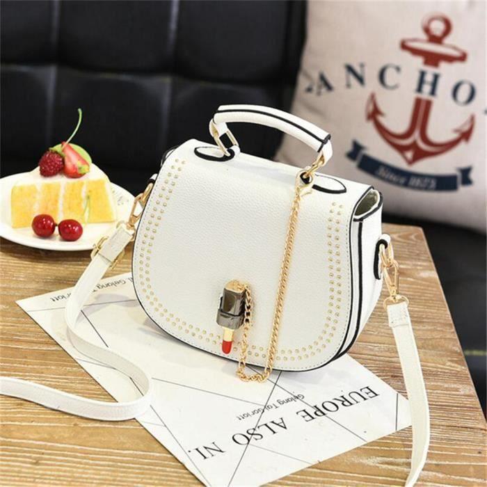 1ebd59ada8 sac de luxe blanc sac cabas femme de marque Nouvelle arrivee sac  bandouliere cuir femme Sac Femme De Marque De Luxe En Cuir sac
