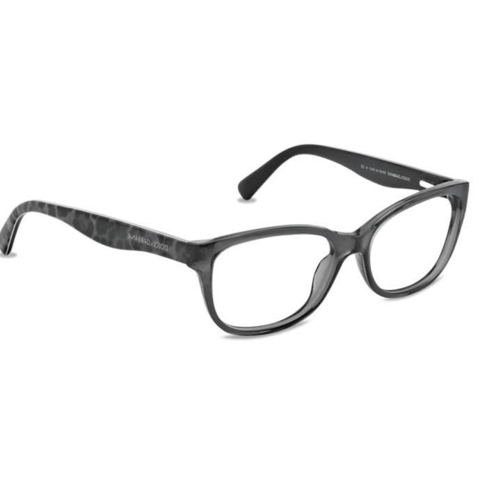 f59db1b83d6ad5 Dolce   Gabanna DG 3136. Gris - Achat   Vente lunettes de vue Femme ...