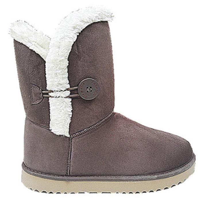 BOTTINE Femme Fille Bottine Botte boots Chaussure fourrées