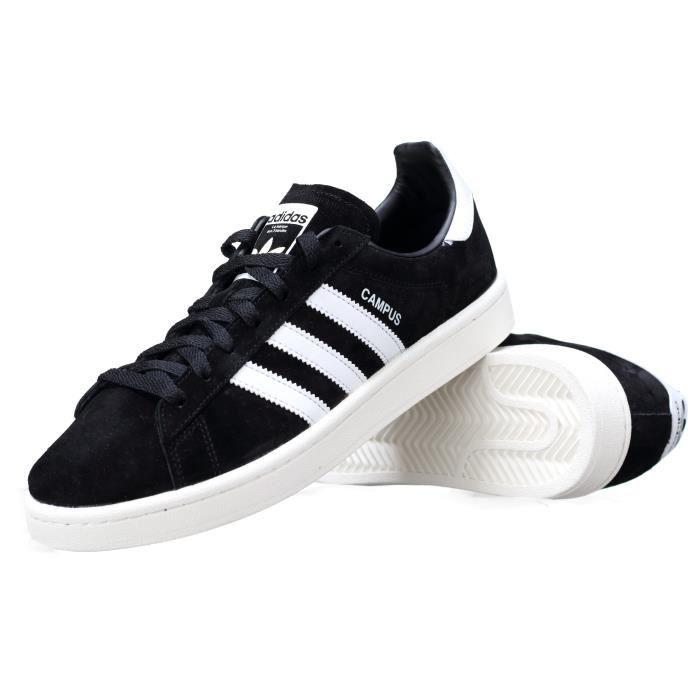 Basket Adidas Campus Bz0084 Noir - Blanc lLrmQwNJRX
