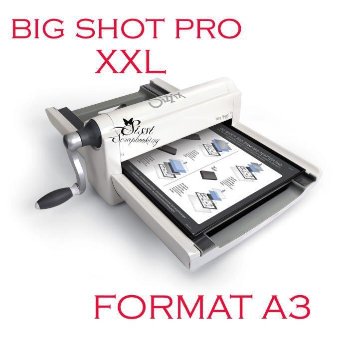 maxi big shot a3 format xxl sizzix achat vente machine de coupe maxi big shot a3 format xxl. Black Bedroom Furniture Sets. Home Design Ideas