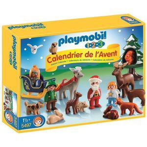 PLAYMOBIL 1.2.3. - 5497 - Calendrier Avent P?re Noël