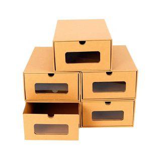 BOITE POUR ALIMENTATION 20PCS Boîte à Chaussures en Papier Epais Boîte de