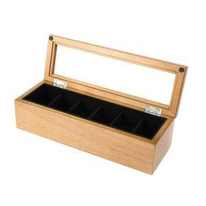 boite montre bois achat vente pas cher soldes d s le 10 janvier cdiscount. Black Bedroom Furniture Sets. Home Design Ideas