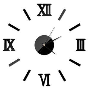 Pendules murales moderne achat vente pas cher for Horloge murale moderne salon