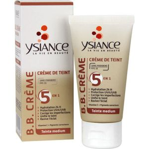 HYDRATANT VISAGE YSIANCE BB crème - Medium - 50 ml