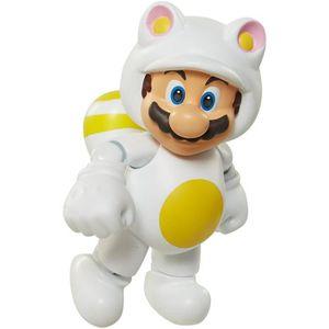 FIGURINE - PERSONNAGE Figurine Mario Blanche Tanooki