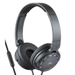 CASQUE - ÉCOUTEURS JVC HA-SR525 noir Casque audio avec télécommande