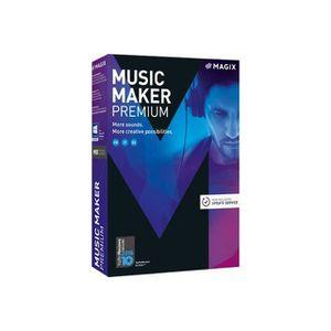 BUREAUTIQUE À TÉLÉCHARGER Logiciel PC MAGIX Music Maker Premium 2017