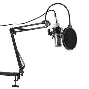 MICROPHONE XCSOURCE BM-800 Microphone Condenseur d'Enregistre