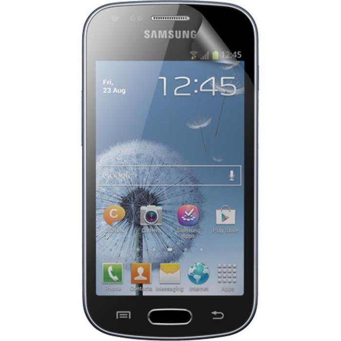 BIGBEN Lot 2 protèges-écran One Touch pour Samsung Galaxy Trend S7560 - Transparent