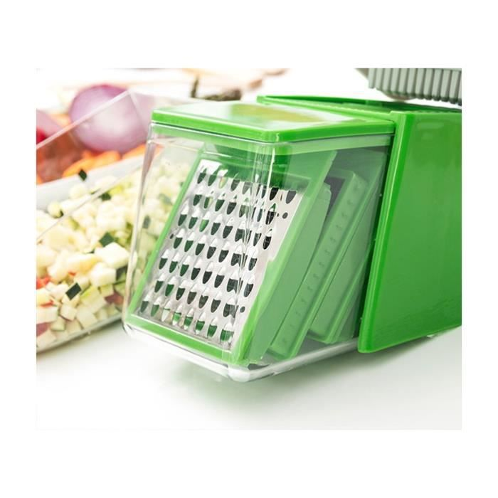 Coupe legumes nicer dicer achat vente coupe legumes nicer dicer pas cher cdiscount - Coupe legume nicer dicer ...