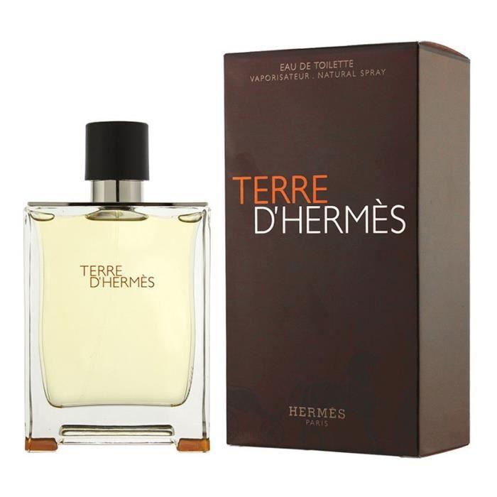 HERMES TERRE D HERMES 200ml EAU DE TOILETTE POUR HOMME VAPORISATEUR ... 1ae2b65e16b
