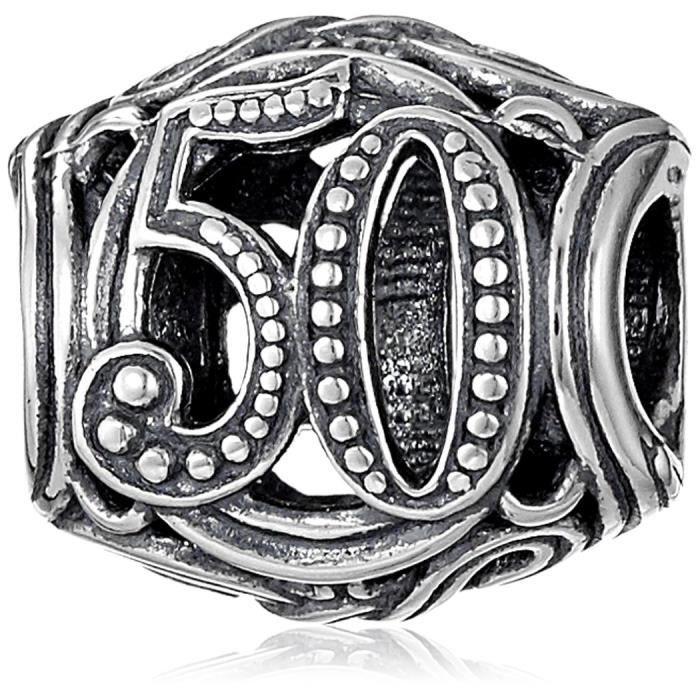 Chamilia Argent Femmes Sterling 50 Milestone Perle Charm WNG0K