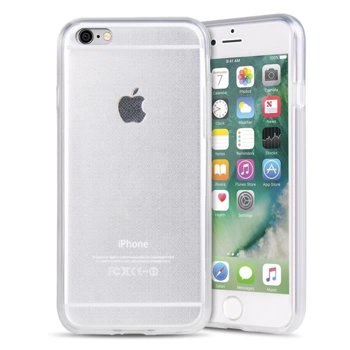 coque iphone 8 360 degrés silicone