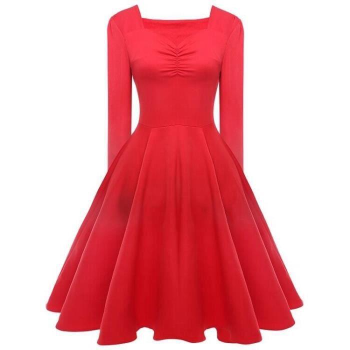 Vintage robe de soirée cocktail, bal style années 50, Rockabilly