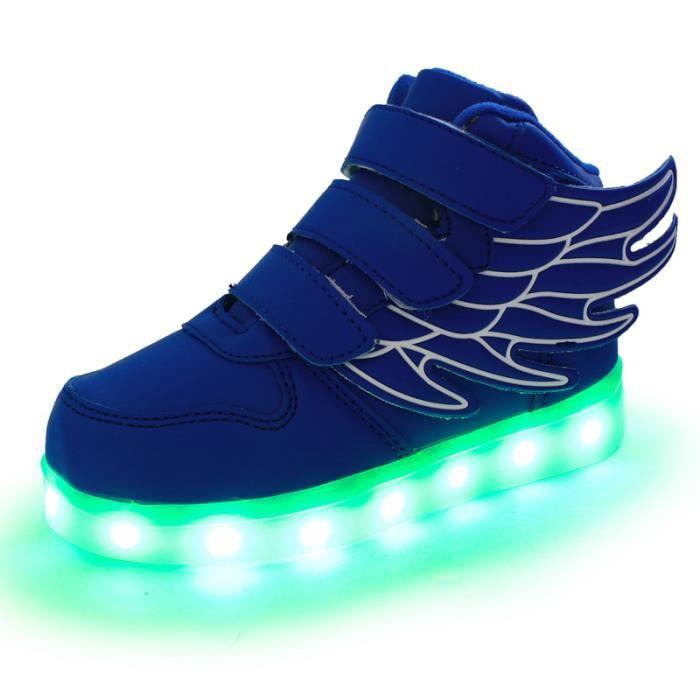 2017 nouveaux usb charge wings coloré chaussures légères flash loisirs chaussures pour enfants chaussures pour enfants R1ZLbfBNa