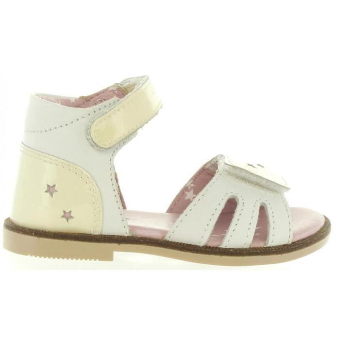 3 Pour Fille Sandales Kickers 469890 Moonstar 11 Blanc LUSzMpqjVG