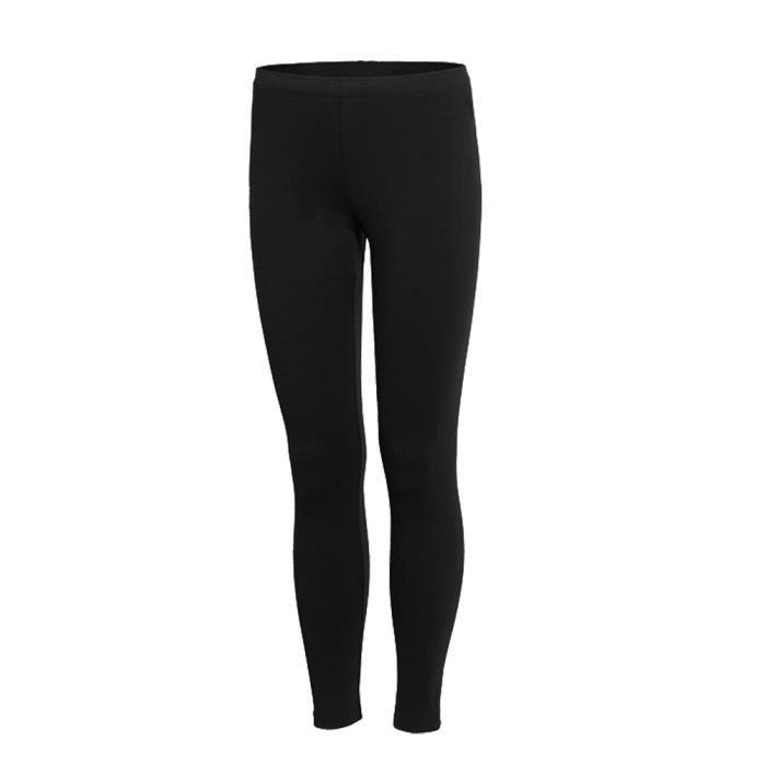 2567ffa12c334 Pantalons Collants de Compression Élastique pour Femme, Base Layer Sport  Respirant Séchage Rapide pour Yoga Fitness Course Noir